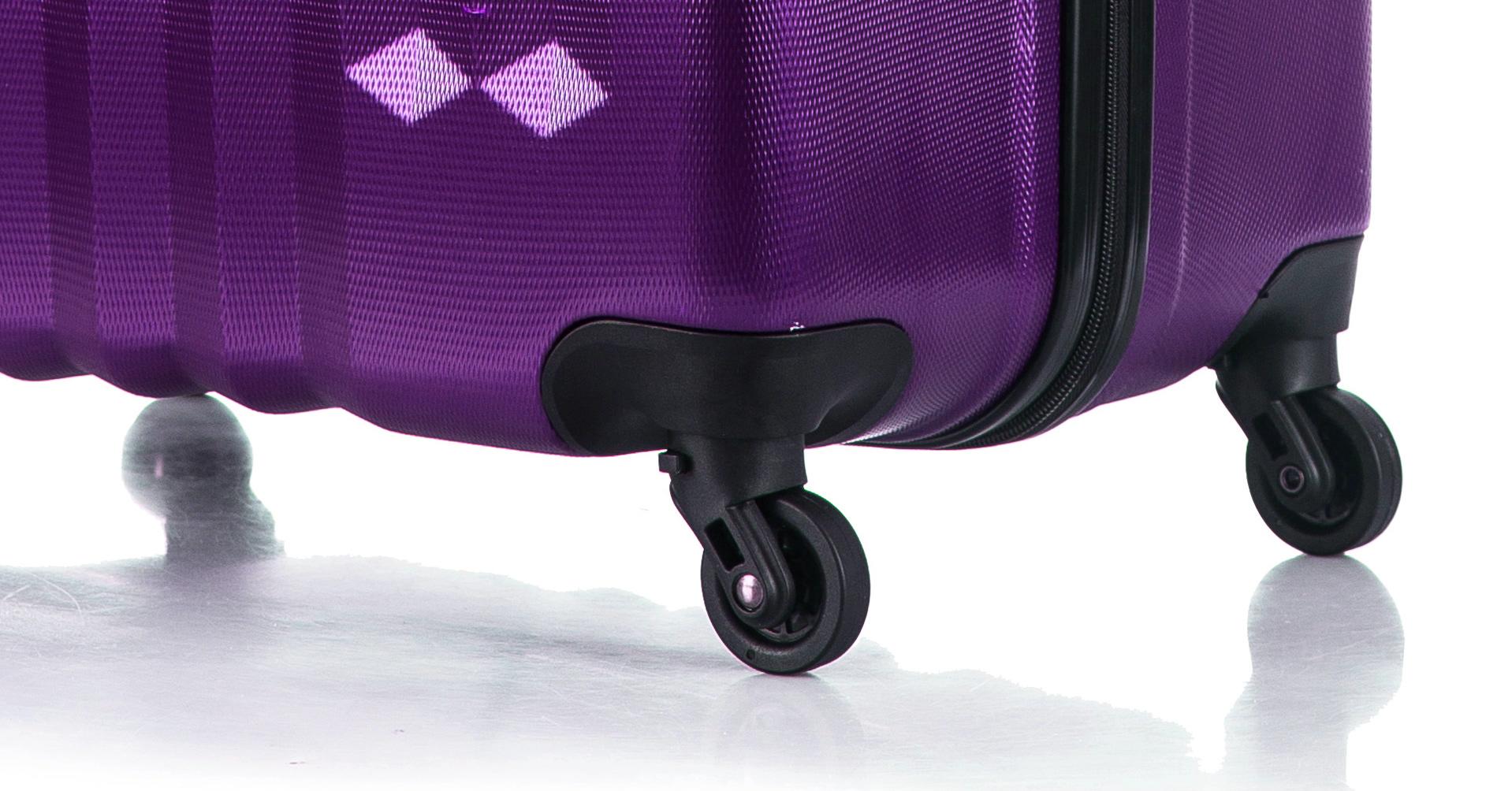 Чемодан со съемными колесами L'case Phuket-28 Фиолетовый (L)