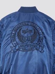 куртка Alpha Industries MA-1 60th Anniversary Flight Jacket Navy