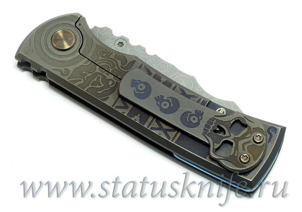 Нож Redencion Aztec Custom Ramon Chaves - фотография