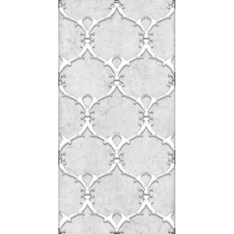 Декор Преза серый 04-01-1-08-03-06-1017-1 400х200х8