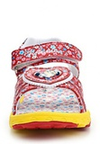Босоножки Минни Маус (Minnie Mouse) на липучке открытые для девочек, цвет красный желтый. Изображение 5 из 8.