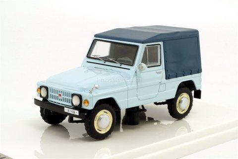 Moskvich-2148 1973 year blue Prommodel43 1:43