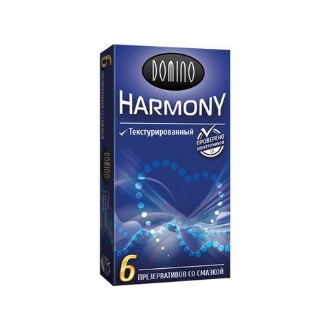 Текстурированные презервативы Domino Harmony - 6 шт.