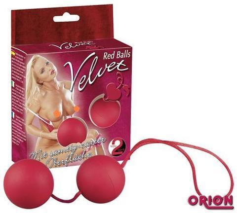 Шарики вагинальные Velvet
