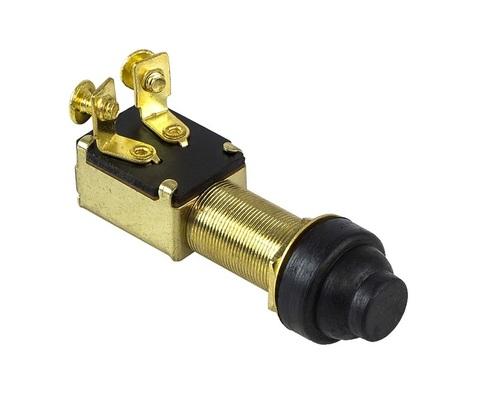 Кнопка с резиновым колпачком без фиксатора