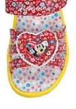 Босоножки Минни Маус (Minnie Mouse) на липучке открытые для девочек, цвет красный желтый. Изображение 7 из 8.