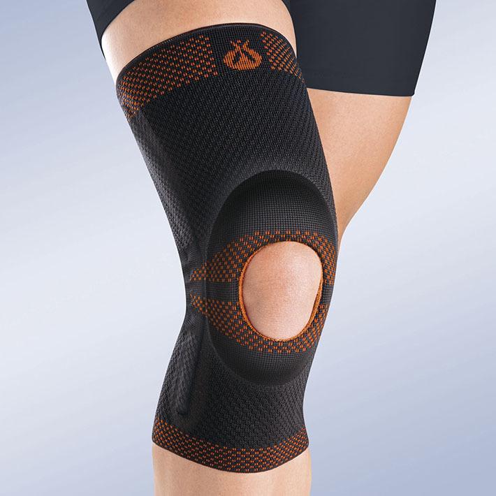 С шинами Бандаж коленный c открытой коленной чашечкой с силиконовой подушечкой и пружинными ребрами жесткости Orliman Rodisil 9df1462ceb69564afb3356ecf439e7b1.jpg