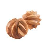 Тактильные можжевеловые шарики рифлёные (арт.L1003)