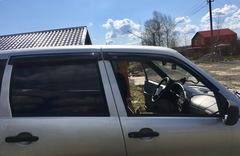 Дефлекторы боковых окон EGR для Chevrolet Niva 4 № BRNIVASW
