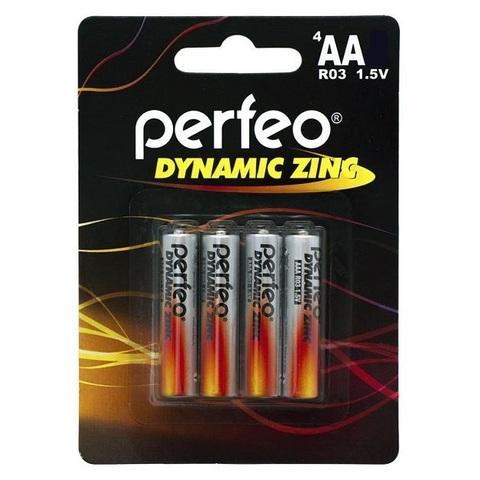 Батарейки Perfeo R6, AA (4/120) BL