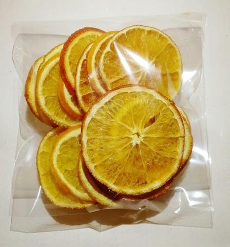 Дольки апельсина сушеные (упаковка: 15 шт.)