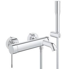 Смеситель для ванны с душевым набором Grohe Essence New 33628001 фото