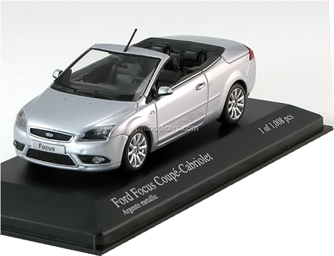 Ford Focus Coupe Convertible silver Minichamps 1:43