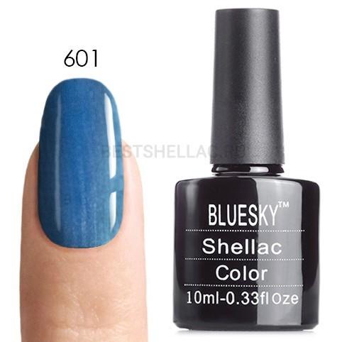Bluesky Shellac 40501/80501 Гель-лак Bluesky № 40601/80601 Deep Sea, 10 мл 601.jpg