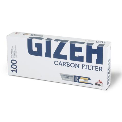 Гильзы для самокруток Gizeh Silver Tip Carbon