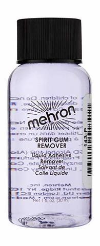 MEHRON Средство для удаления сандарачного клея Spirit Gum Remover, 30 мл