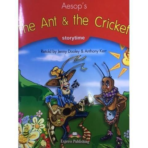 The Ant & the Cricket. Книга для чтения. Stage 2 (2-3 классы) в комплекте с CD.