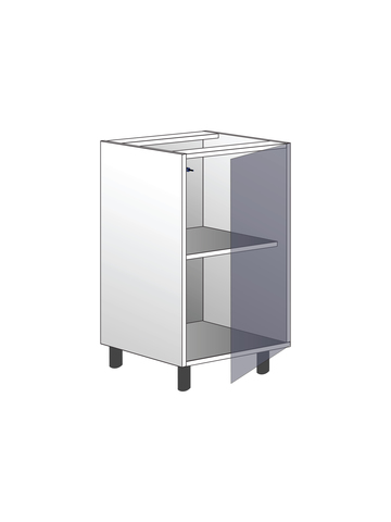 Напольный шкаф с полкой, 720Х450 мм / PushToOpen