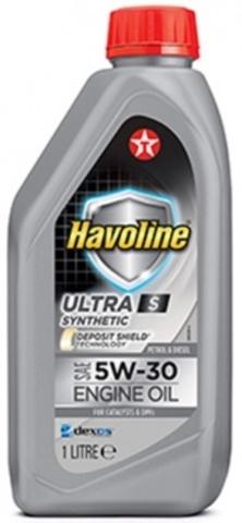 HAVOLINE ULTRA S 5W-30 моторное масло TEXACO 1 литр