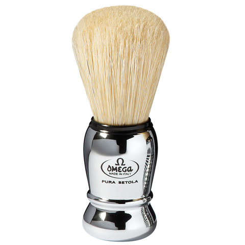 Помазок для бритья Omega натуральный кабан 10029