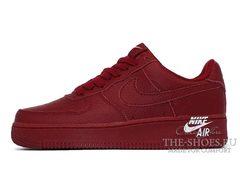 Кроссовки женские Nike Air Force 1 '07 Low LTHR Red Team