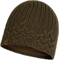 Шапка вязаная с флисом Buff Hat Knitted Polar Helle Tundra Khaki