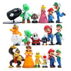 Супер Марио набор фигурок мини