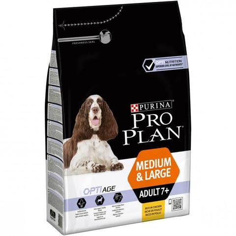 Purina Pro Plan Medium & Large Adult 7+ сanine dry 14 кг
