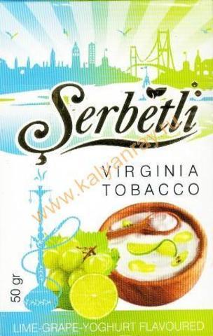 Serbetli Lime-Grape-Yoghurt