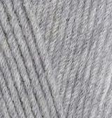 Пряжа Alize Cotton Gold серый 21