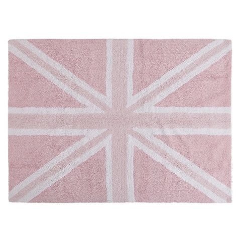 Ковер Lorena Canals UK Flag Baby Pink (120 х 160)