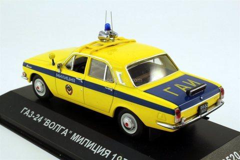GAZ-24 Volga Police movie Ivan Vasilyevich Changes Profession 1:43 VVM / VMM