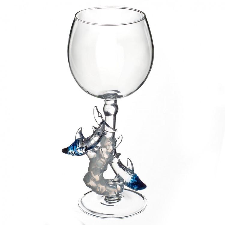 Бокал для вина «Акулы», 300 мл бокал для вина coteau 300 мл 00635701 снято la rochere