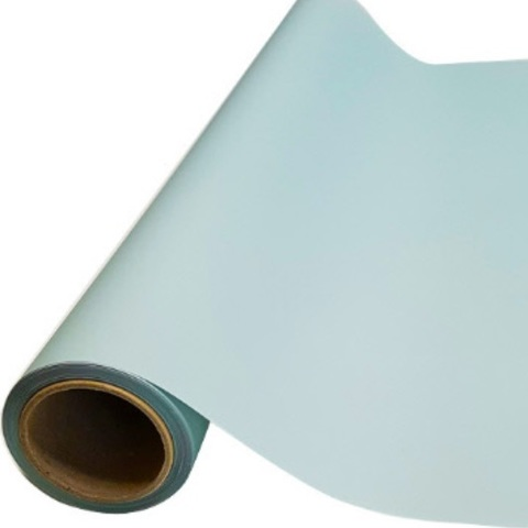 Пленка матовая (размер:65см х 10м), цвет: мятный