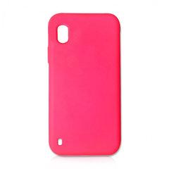 Чехол для Samsung A10 Silicon Cover Красный