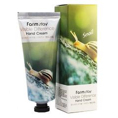 Farmstay Snail Visible Difference Hand Cream - Крем для рук с муцином улитки