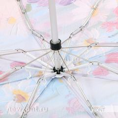 Компактный зонт TRUST с ромашками в стиле импрессионизма