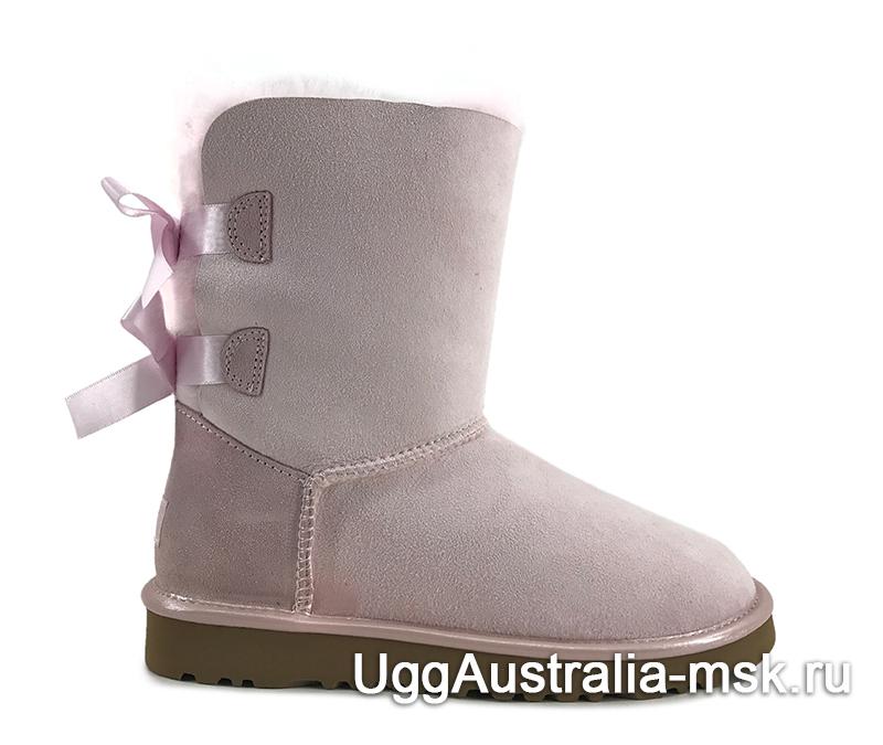 UGG Bailey Bow II Metallic Pink