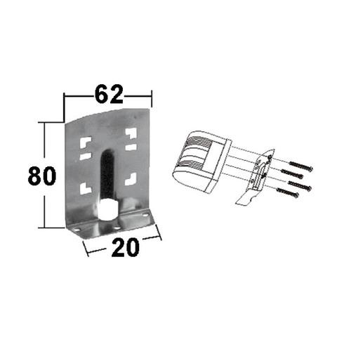 Кронштейн 80 х 62 х 20 мм, для стойки 006113