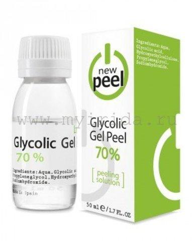 Гликолевый пилинг 70% Glycolic Gel-Peel 70% 50 мл