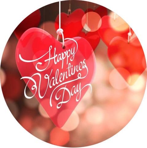 Печать на сахарной бумаге, День Влюбленных 22