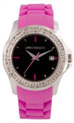 Часы серии Ooh La La розовый/черный
