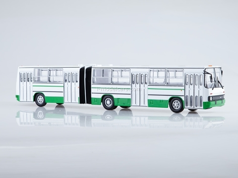 Ikarus-280.33 white-green Soviet Bus 1:43