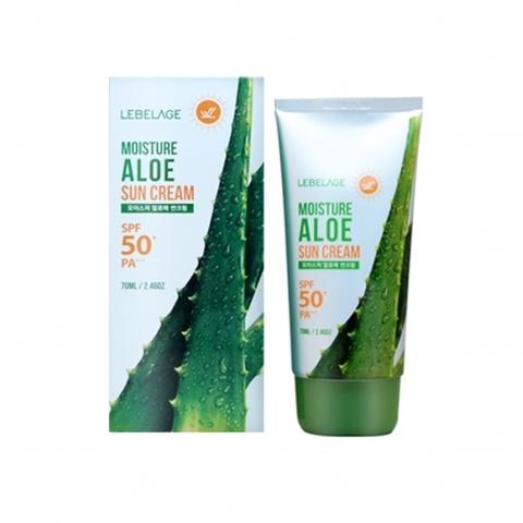Солнцезащитное средство LEBELAGE Moisture Aloe Sun Cream SPF50+ PA++++ 70ml