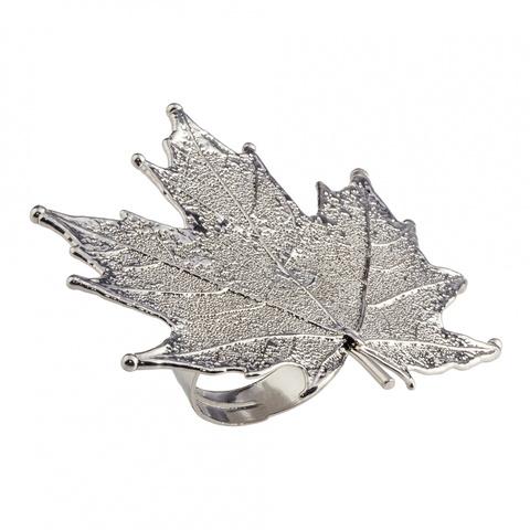 Кольцо Филигранный Канадский Клён LF40R-S BW