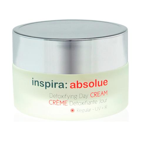 Детоксицирующий легкий увлажняющий дневной крем Detoxifying Day Cream Regular, Inspira Absolue, 50 мл