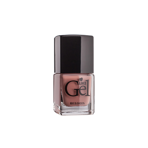 Relouis Like Gel Лак для ногтей с гелевым эффектом тон №05 (винтажный розовый) 6г