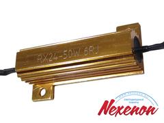 Резистор (обманка) 50 ватт 6 ом