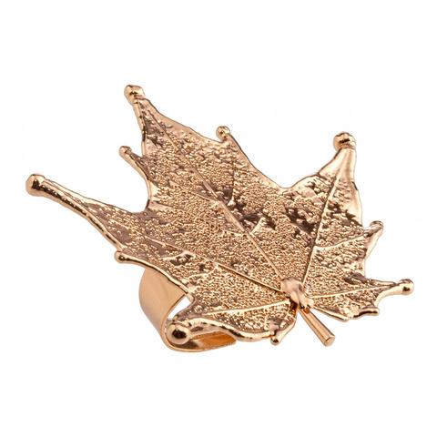 Кольцо Филигранный Канадский Клён LF40R-RG BR