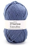 Пряжа Drops Merino Extra Fine 13 джинс